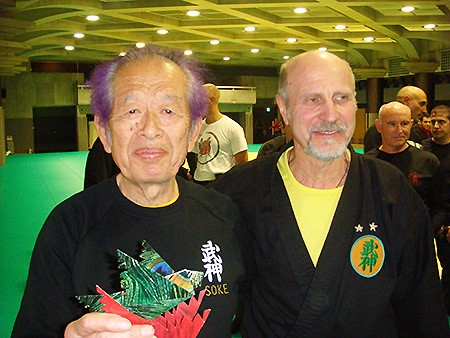Макаров Олег Иванович с сэнсэем Хацуми Масааки